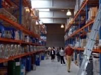 原料の保管庫、BIO認定の精油も保管されています